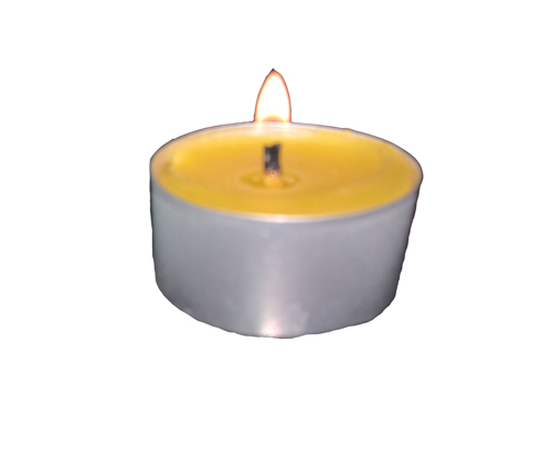 tealight lit